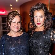 NLD/Utrecht/20170112 - Musical Awards Gala 2017, Xandra Brood en vriendin