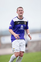 East Fife's Allan Walker. <br /> East Fife 2 v 1 Elgin City, Ladbrokes Scottish Football League Division Two game played 22/8/2015 at East Fife's home ground, Bayview Stadium.