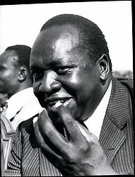 1968 - Idi Amin. Credits: Camerapix (Credit Image: © Keystone Pictures USA/ZUMAPRESS.com)