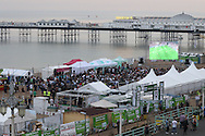 near 2000 people flock to Brighton's Big Screen Event match showing at Madeira Drive, to watch England and Russia at Stade Velodrome, Marseille, France on 11 June 2016. Photo by Stuart Butcher.