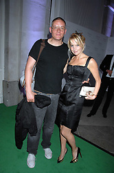 GILES DEACON and MARISSA MONTGOMERY at the Tanqueray No.TEN cocktail party held at No1 Piazza, Covent Garden, London on 10th June 2008.<br /><br />NON EXCLUSIVE - WORLD RIGHTS