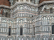 The Cathedral of Santa Maria del Fiore, with the Renaissance dome designed by Filippo Brunelleschi, Florence Italy