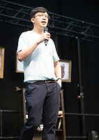 Phil Wang AT 'LONDON'S FIRST FESTIVAL THIS SUMMER KALEIDOSCOPE TAKES PLACE AT ALEXANDRA PALACE,PHOTO BY BRIAN JORDAN