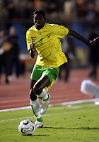 Emmanuel Eboue<br />Togo 2005/06<br />Tresor Mabi Mputu RD DU Congo<br />(Stephen Keshi Head Coach a row with Arsenal's Emmanuel Eboue after the match. The Arsenal Player has been sent home in disgrace)<br />25th MTN Africa Cup Of Nations Egypt 2006<br />Togo V RD DU Congo  21/01/06<br />Photo Robin Parker Fotosports International