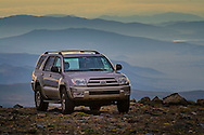 2003 Toyota 4-Runner offroad high in the mountains of Mono County, Eastern Sierra, California