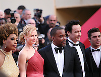 Macy Gray, Nicole Kidman, Lee Daniels, John Cusack, Zac Efron at The Paperboy gala screening red carpet at the 65th Cannes Film Festival France. Thursday 24th May 2012 in Cannes Film Festival, France.