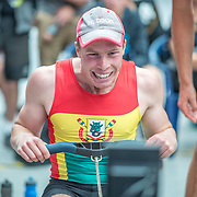 William Thompson  Mens relay Race #26  03:30pm<br /> <br /> www.rowingcelebration.com Competing on Concept 2 ergometers at the 2018 NZ Indoor Rowing Championships. Avanti Drome, Cambridge,  Saturday 24 November 2018 © Copyright photo Steve McArthur / @RowingCelebration