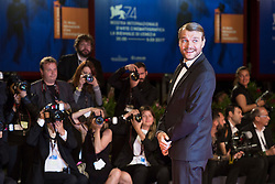 Pilou Asbaek arriving for the premiere of Woodshock as part of the 74th Venice International Film Festival (Mostra) in Venice, Italy, on September 4, 2017. Photo by Marco Piovanotto/ABACAPRESS.COM