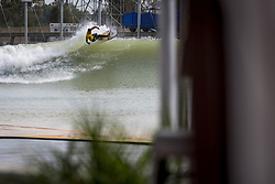 May 4, 2018 - Lemoore, California, U.S - GABRIEL MEDINA of Team Brasil rides the first wave in the inaugural WSL Founders' Cup of Surfing. (Credit Image: © Erick Madrid via ZUMA Wire)