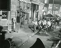 1942 Movie sets at Goldwyn Studios in Hollywood