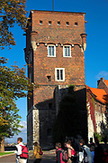 XIV-wieczna Baszta Zlodziejska, zamek krolewski na Wawelu<br /> The Thieves' Tower, Wawel castle, Cracow, Poland