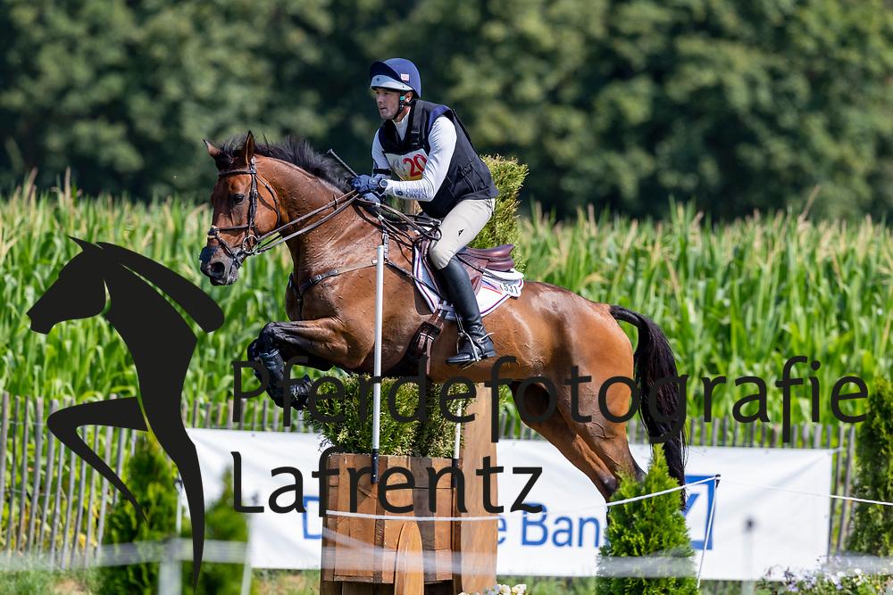 COLEMAN William (USA), Obos O'Reilly<br /> Aachen - CHIO 2018<br /> CICO Teilprüfung Gelände Cross Country<br /> 21. Juli 2018<br /> © www.sportfotos-lafrentz.de/Stefan Lafrentz