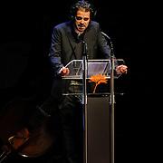 NLD/Amsterdam/20111128 - uitreiking Prins Bernhard Cultuurprijs 2011, toespraak Stephan Vanfleteren