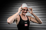 Cate Campbell poses during an Uncle Tobys Commonwealth Games athlete portrait session in Brisbane, Queensland, Australia. (Photo by Matt Roberts/mattrimages.com.au)