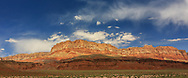 Echo Cliffs panorama, taken May 16, 2016, traveling US 89 to Flagstaff, Arizona.