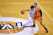 DESCRIZIONE : Treviso Lega due 2015-16  Universo Treviso De Longhi - Aurora Basket Jesi<br /> GIOCATORE : davide moretti<br /> CATEGORIA : Palleggio<br /> SQUADRA : Universo Treviso De Longhi - Aurora Basket Jesi<br /> EVENTO : Campionato Lega A 2015-2016 <br /> GARA : Universo Treviso De Longhi - Aurora Basket Jesi<br /> DATA : 31/10/2015<br /> SPORT : Pallacanestro <br /> AUTORE : Agenzia Ciamillo-Castoria/M.Gregolin<br /> Galleria : Lega Basket A 2015-2016  <br /> Fotonotizia :  Treviso Lega due 2015-16  Universo Treviso De Longhi - Aurora Basket Jesi