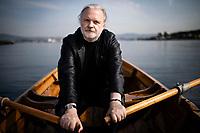 Oslo, Norge, 27.08.2019. Forfatter og drammatiker, Jon Fosse i Oslo. Foto: Christopher Olssøn.