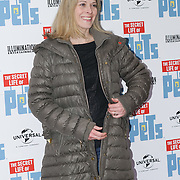 London, England,UK. 12th Nov 2016: Kirsty McCabe attend the UK 'Petmiere' of The Secret Life of Pets to mark the Blu-ray and DVD release on Monday November 14th 2016 at Prince Charles Cinema, Soho,London,UK. Photo by See Li