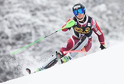 Sebastian Foss-Solevaag (NOR) competes during 1st Run of 10th Men's Slalom race of FIS Alpine Ski World Cup 55th Vitranc Cup 2016, on March 6, 2016 in Podkoren, Kranjska Gora, Slovenia. Photo by Vid Ponikvar / Sportida