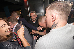 Conor McGregor arrives at the after show party at Sanctury Nightclub, Dumbarton Road, Glasgow, Scotland.