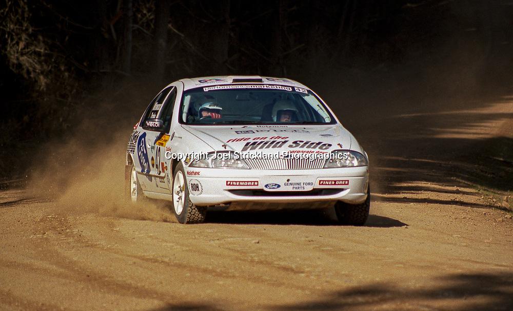 Steve Winwood & Lyndall Drake – Ford Falcon XR - Saxon Safari Tasmania - ARC- 11th-12th September 1999