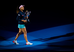January 26, 2019 - Melbourne, AUSTRALIA - Naomi Osaka of Japan during the trophy ceremony after the final of the 2019 Australian Open Grand Slam tennis tournament (Credit Image: © AFP7 via ZUMA Wire)
