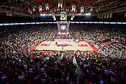 Feb 16, 2013; Fayetteville, AR, USA; Bud Walton Arena home of the Arkansas Razorbacks during a game against the Missouri Tigers at Bud Walton Arena. Arkansas defeated Missouri 73-71. Mandatory Credit: Beth Hall-USA TODAY Sports