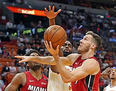 New York Knicks v Miami Heat - 21 March 2018