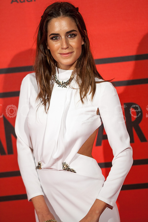 Gala Gonzalez during the photocall of Vanity Fair 5th Anniversary party In Madrid