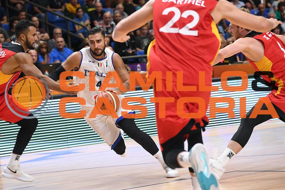 Pietro Aradori<br /> Nazionale Italiana Maschile Senior<br /> Eurobasket 2017 - Group Phase<br /> Italia Germania Italy Germany<br /> FIP 2017<br /> Tel Aviv, 05/09/2017<br /> Foto M.Ceretti / Ciamillo - Castoria
