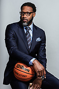 Tracy McGrady, a retired NBA and Hall of Fame basketball player, poses for a portrait at his home Friday July 17, 2020 in Fresno, TX.