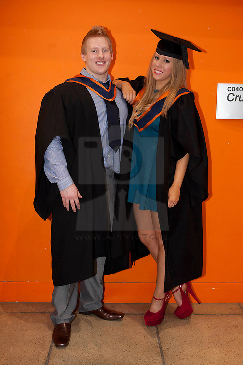 No fee for Repro: 11/11/2011.ITB (Institute of Technology Blanchardstown) to welcomed 560 students back on campus to graduate from their full, part-time and on-line courses. Pictured at the graduation are Twins Jane and Fionn Hanratty from Castleknock graduating in Mechatronics...Ann Marie Sheehan.Aspire PR.0872985569.iannmarie@aspire-pr.com. ...Ann Marie Sheehan.Aspire PR.0872985569.iannmarie@aspire-pr.com