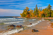 Lake Superior at Katherine Cove<br />