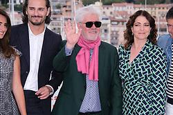 May 18, 2019 - Cannes, Provence-Alpes-Cote d'Azu, France - 72eme Festival International du Film de Cannes. Photocall du film ''Douleur et Gloire''. 72th International Cannes Film Festival. Photocall of ''Dolor y gloria'' movie....239401 2019-05-18 Provence-Alpes-Cote d'Azur Cannes France.. Cruz, Penelope; Almodovar, Pedro; Navas, Nora (Credit Image: © Philippe Farjon/Starface via ZUMA Press)