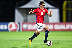 October 5, 2017 - San Marino, SAN MARINO - 171005 Sander Berge of Norway during the FIFA World Cup Qualifier match between San Marino and Norway on October 5, 2017 in San Marino. .Photo: Fredrik Varfjell / BILDBYRN / kod FV / 150027 (Credit Image: © Fredrik Varfjell/Bildbyran via ZUMA Wire)