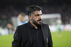 Real Betis vs AC Milan - 08 Nov 2018