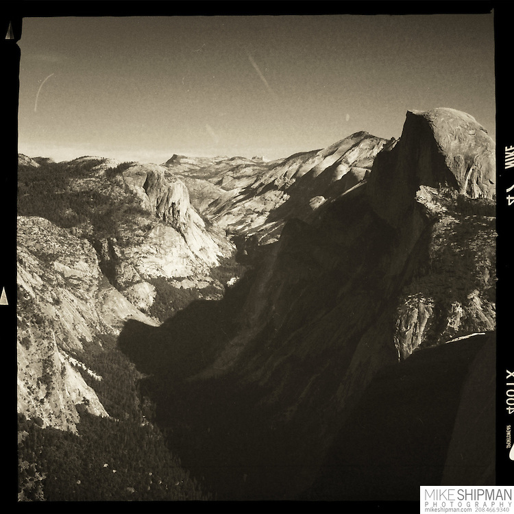 Yosemite Valley and Half Dome from Glacier Point, Yosemite National Park, California