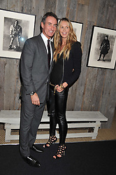 ELLE MACPHERSON and TIM JEFFERIES at the Private View of the Pavilion of Art & Design London 2011 held in Berkeley Square, London on 10th October 2011.