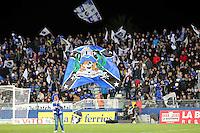 Supporters de Bastia  - 07.03.2015 -  Bastia / Nice -  28eme journee de Ligue 1 <br />Photo : Michel Maestracci / Icon Sport