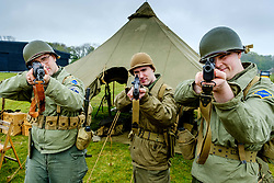 "Sunday 7th May 2017 East Fortune:  Wartime Experience at the National Museum of Flight, East Fortune.  Reenactors from ""They Lead The Way"".<br /> <br /> (c) Andrew Wilson 