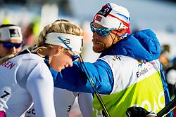 February 2, 2018 - Goms, SWITZERLAND - 180202 Anders BystrÅ¡m, coach of Norway, after the women's 7,5/7,5 km skiathlon during the FIS U23 Cross-Country World Ski Championships on February 2, 2018 in Obergoms..Photo: Vegard Wivestad GrÂ¿tt / BILDBYRN / kod VG / 170095 (Credit Image: © Vegard Wivestad Gr¯Tt/Bildbyran via ZUMA Press)