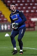 Matthew Gilks during the EFL Sky Bet League 2 match between Scunthorpe United and Bolton Wanderers at the Sands Venue Stadium, Scunthorpe, England on 24 November 2020.