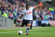 Bolton Wanderers midfielder Liam Feeney in action during the Sky Bet Championship match between Bolton Wanderers and Brighton and Hove Albion at the Macron Stadium, Bolton, England on 26 September 2015.