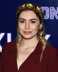 December 5, 2018 - Hollywood, California, USA - SOPHIE SIMMONS attends the premiere of Neon's 'Vox Lux' at ArcLight Hollywood in Los Angeles, California. (Credit Image: © Billy Bennight/ZUMA Wire)