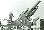 Britsh artillery position in Northern France in 1940