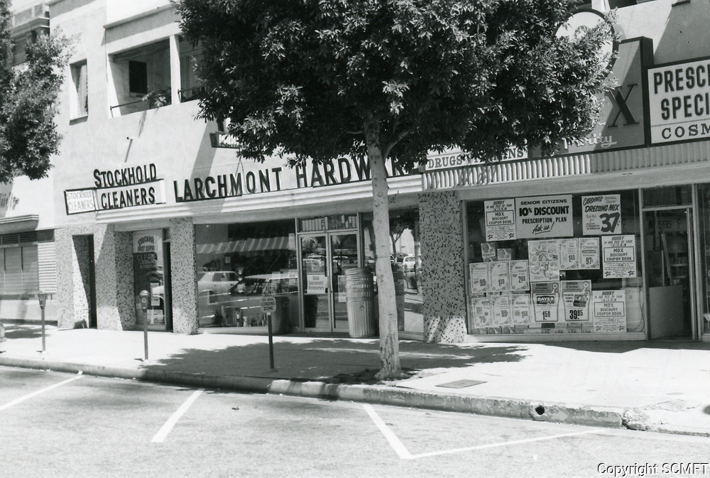 1977 Larchmont Hardware on Larchmont Blvd.