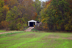 24 October 2017:  Portland Mills bridge.<br /> <br />  Parke County Indiana is the site of the Indiana Covered Bridge Festival every October