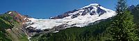 Mt. Baker, Panorama, Glacier Creek