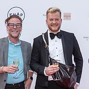NLD/Amsterdam/20190618 - Piper-Heidsieck Leading Ladies Awards, Bastiaan van Schaik en partner Ramon