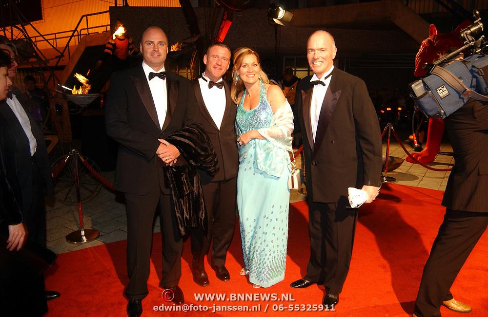 Miljonairfair 2004, Ferdi Bolland en partner Marion Mulder en vrienden
